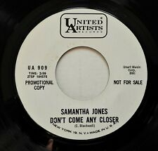 "Samantha Jones - Don't Come Any Closer 7"" Single 1964 US Promo Northern Soul EX!"