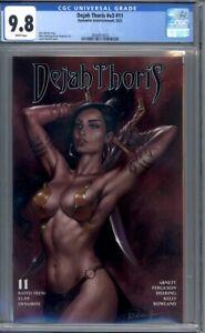 Dejah Thoris #11 Lucio Parrillo Cover John Carter Mars 1st Print CGC 9.8