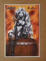 Lady Death: Malevolent Decimation #1 Monte Moore Edition Signed Pulido w/COA