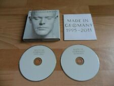 RAMMSTEIN - MADE IN GERMANY (RARE LIMITED EDITION 2 CD ALBUM -FOLD OUT DIGIPAK)
