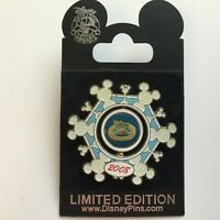 DVC - Merry Member Mixer 2008 Snowflake Spinner LE 1500 Disney Pin 66996