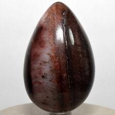 "2.8"" Red Tiger's Eye Egg Natural Crystal Quartz Mineral Ox Eye Stone - Africa"