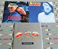 """3 X Jimmy Somerville 7"""" Singles  PICTURE SLEEVES  VINYL EXCELLENT"""