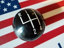 BLACK SHIFT KNOB BALL 4 SPEED 3/8 FOR HURST SHIFTER CAMARO MUSTANG CHEVELLE