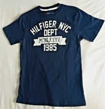 """TOMMY """" Hilfiger NYC Dept """" Navy Blue Logo Top : Size M  8 - 10  Purchased@TH"""