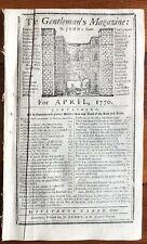1770 Revolutionary War newspaper Boston Massacre British Murder Patriots Attucks