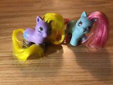 VTG 1989 MY LITTLE PONEY G2 Teeny Tiny Baby Pony's Lot of 2 TATTLES & TOOTSIE