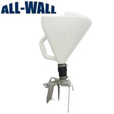 Spraying Mantis Drywall Texture Hopper Gun - Metal Body, 3 Nozzles