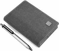 A7 Notebook Leather Classic Retro Diary ravel Notepad Journal Writing 226Pages