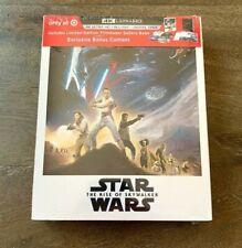 Star Wars The Rise of Skywalker Target Exclusive 4K/UHD Blu Ray Digital+Book NEW
