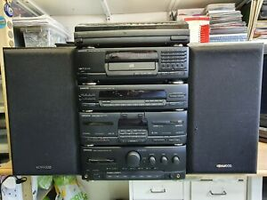 KENWOOD HiFi 5 pieces Stack system separates A-45 X-45 T-85L DP-950 P-26 LS-34