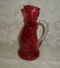 Pink Cranberry Glass Revolutionary War Soldier - Vintage