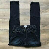 PAIGE Skyline Ankle Peg Skinny Dark Wash Denim Blue Jeans Women's Size 27