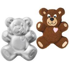 Wilton Teddy-Bär Backform aus Aluminium Bär Kindergeburtstag Kuchen