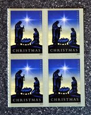 2016USA #5144 Forever Christmas Nativity - Block of 4  Mint