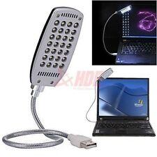 New Bright Flexible Mini 28 LED USB Light Computer Lamp Laptop PC Desk Reading