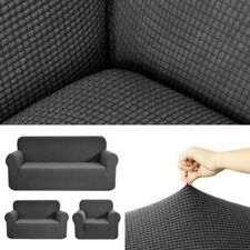 Elastic Sofa Cover Easy Fit Sectional/Corner Couch Covers Home Decor 1/2/3 Seats