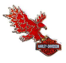 HARLEY DAVIDSON RARE yn15 PHONEX EAGLE FIRE CAST HARLEY  PIN
