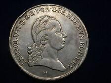 Kronentaler 1792 M Mailand Leopold II. RDR  Silber   W/21/978