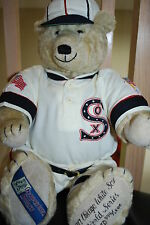 "1917 CHICAGO WHITE SOX WORLD SERIES 21"" COOPERSTOWN BEAR  LTD ED. 374/2500"