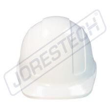 White Hard Hat Jorestech Adjustable Ratchet Suspension Safety Cap Style