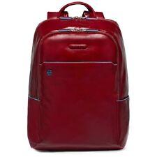 PIQUADRO Zaino Laptop Blue Square rosso ca3214b2/r