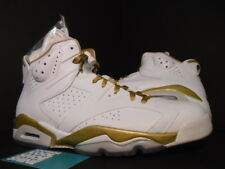Nike Air Jordan VI 6 Retro GMP GOLDEN MOMENT GOLD MEDAL PACK OG 384664-135 11.5