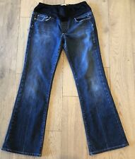 Paige Laurel Canyon Maternity Dark Bootcut Jeans Size 30 SHIPS FREE