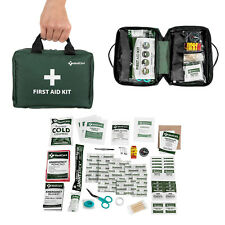 115 Piece First Aid Kit Emergency Medical Bag Home Car Trauma Outdoor Survival