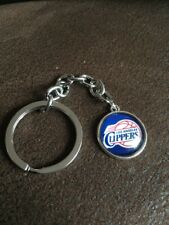 LA LOS ANGELES  CLIPPERS Basketball NBA Iconic Logo Metal Key Ring Unique Design