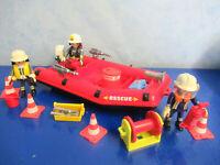 Feuerwehr Schlauchboot Figuren zu 4819 3175 Playmobil 748