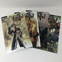 Iron and the Maiden Aspen Comic Books 2007 # 1B 2A 3B 4A Morgan Full Color