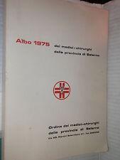 ORDINE DEI MEDICI CHIRURGHI DELLA PROVINCIA DI SALERNO Albo 1975 medicina libro