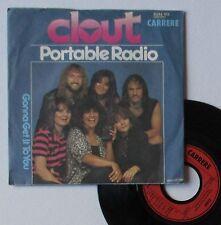 "Vinyle 45T Clout  ""Portable radio"""