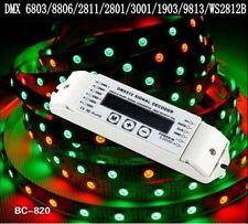 DMX512 Decoder control lpd6803 lpd8806 WS2811 WS2801 WS2812B dream color dmx