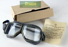 GENUINE VINTAGE RUSSIAN SOVIET ARMY GOGGLES