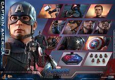 pre order Hot Toys 1/6 MMS536 Captaine America 1/6 Avengers: Endgame