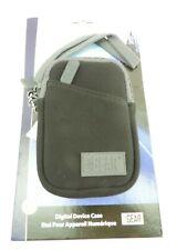 Durable Neoprene Case w/ Wrist Strap & Belt Loop for Pocket Cameras, Camcorders