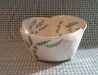 Studio Art Pottery Hand Made Glaze Free Form Bowl Stoneware Signed Hand Painted