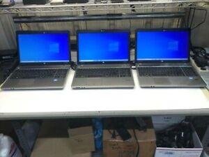 Lot of 3 x HP Probook 4540s i5-3210m 2.50 GHZ 8 GB 500 GB Power Adapters Win 10