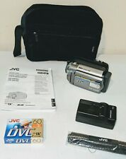 Jvc MiniDv Camcorder 35X Optical/800X Digital Zoom 16:9 Widescreen Gr-D850U