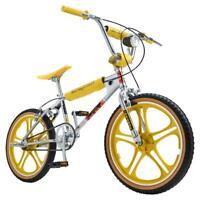 Netflix Stranger Things: Max BMX Mongoose Bike 20 inch Wheel Chrome / Yellow
