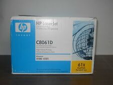 LOT OF 2 Genuine HP C8061X 61X Toner Cartridge Dual Pack C8061D OEM