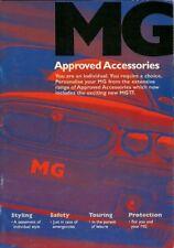 Accessori per MG 2002-03 UK Opuscolo Vendite sul mercato ZR ZS ZT ZT-T TF