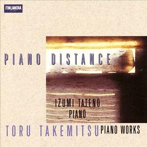 Piano Distance: Takemitsu Piano Works by Izumi Tateno (CD, 1997, Finlandia/BMG)