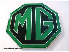 NEW Enamel Green and Black MG BADGE MGB ZR ZS ZT 59mm