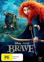 Disney Pixar Brave DVD NEW Region 4