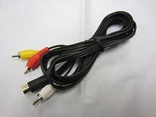 Sega Saturn AV Stereo RCA Cable  6FT