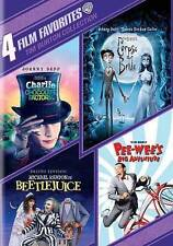 4 Film Favorites: Tim Burton Collection DVD
