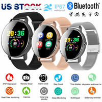 Waterproof Bluetooth Smart Watch Heart Rate Monitor Bracelet for Android iPhone